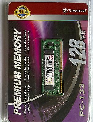 Original Transcend PC-133 Memory Module 128MB SDRAM DIMM 353962-1901