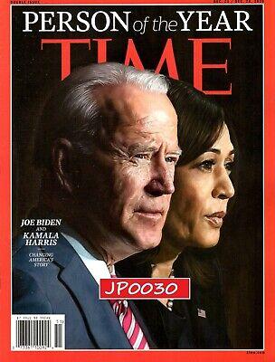 Time Magazine Person Of The Year 2020, Joe Biden & Kamala Harris, New/Sealed