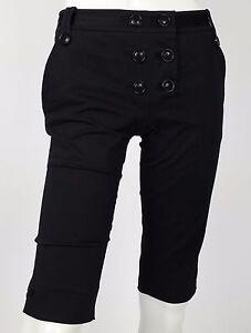 Anna-molinari-shorts-neri-pantalone-corto-bermuda-hot-sexy-nuovo-w26-tg-40-T1068