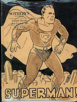 JERRY WEIST ESTATE: SOTHEBY'S 1994 COMIC BOOKS & COMIC ART hardcover catalog