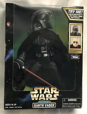 1998 Kenner Star Wars Action Collection Electronic DARTH VADER Action Figure