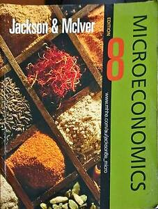 Jackson & Mciver - Microeconomics 8th ED Maroubra Eastern Suburbs Preview