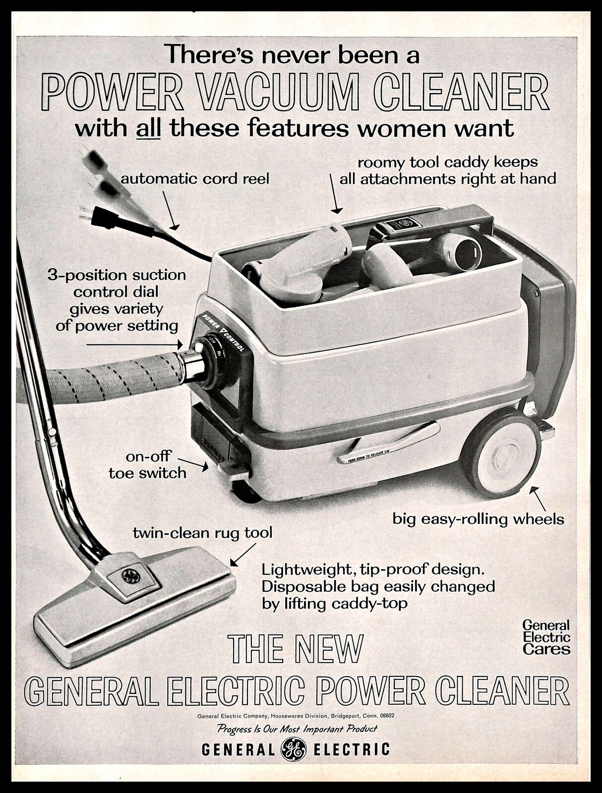 G E Vacuum Cleaners (1946)   Vintage