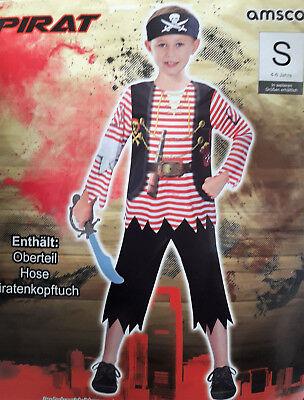 Jungenkostüm Pirat Kostüm Kinder Karneval Fasching Halloween Fantasy - Jungen Märchen Kostüme
