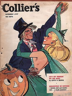 1947 Colliers November 1 - Let's get Germany off our back;Quarterhorse;Halloween