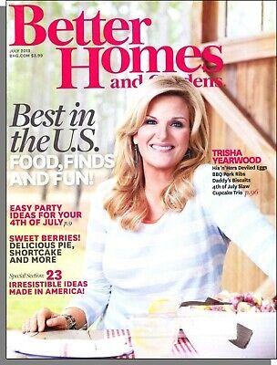 Better Homes and Gardens - 2013, July - Trisha Yearwood, 4th of July Party Ideas](Fourth Of July Party Ideas)