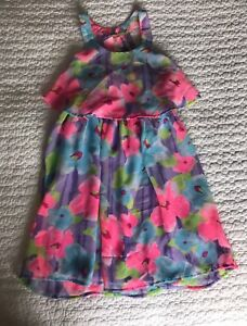 Girl floral dress. Size 8 yrs