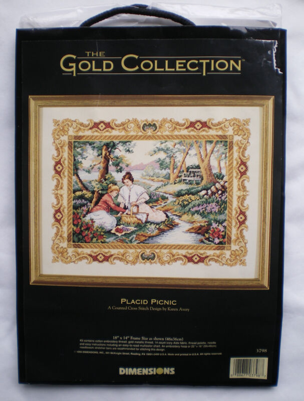 Вышивка gold collections