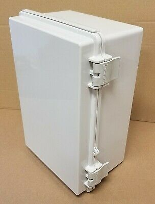 Hi Box 5x7x11 Electrical Enclosure Hinged Junction Box Abs