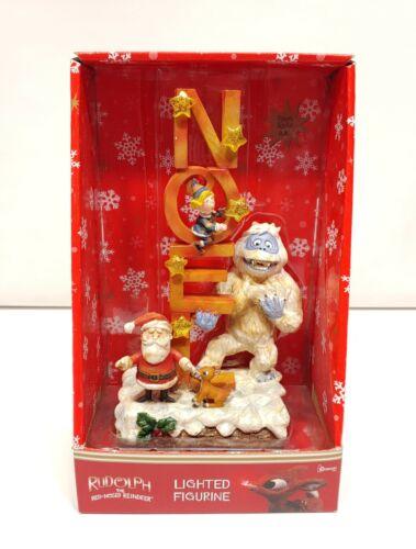 Roman Rudolph The Red-Nosed Reindeer Noel Lighted Figurine
