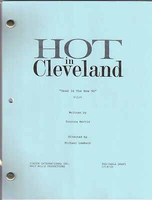 """HOT IN CLEVELAND show script """"Pilot"""" Dead Is The New 90"""