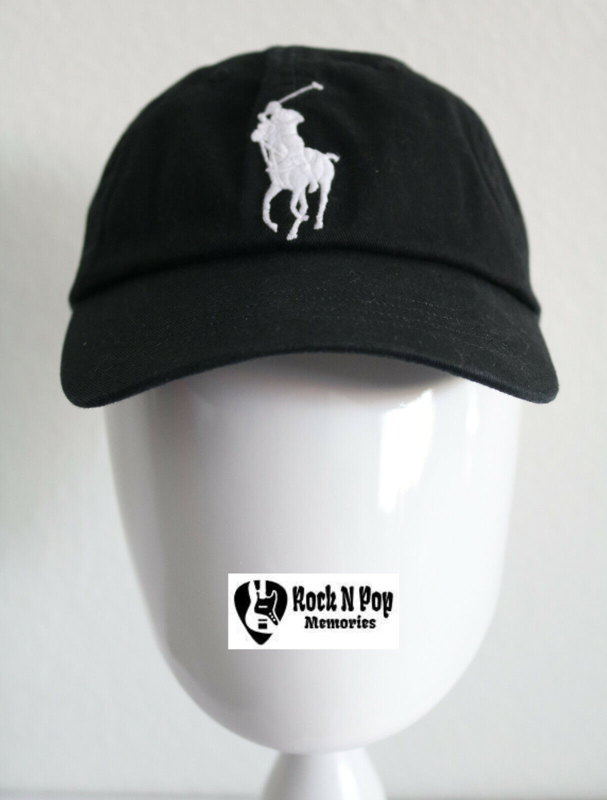 be1990a6dca0b Polo Ralph Lauren Classic Hat Cap Big Pony Adj Leather Strap  3 Embroidered  NWT