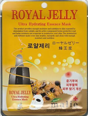 Malie Ultra Hydrating Essence MaskPack Korea Masksheet cosmetic ROYALJELLY 1 pcs