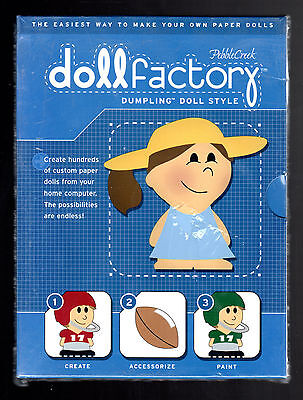 Paper 'DOLL FACTORY - Dumpling Doll Style by Pebble Creek - (2001 CD) New