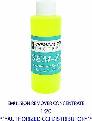 Cci Gem-zyme Stencil And Emulsion Remover Concentrate 4oz