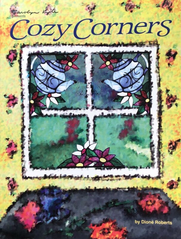 COZY CORNERS Stained Glass Pattern Book Stained Glass Supplies