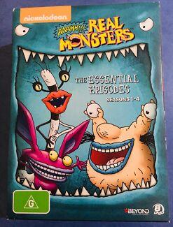 Real Monsters seasons 1-4