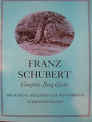 Schubert Complete Song Cycles, Dover Edition, Paperback  VG++