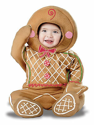 Christmas Gingerbread Man Cookie Infant Baby Costume