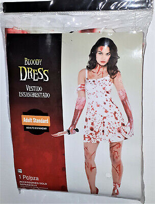Frauen Kostüm Blutiges Kleid Horror Zombie  36/38  Bloody Dress