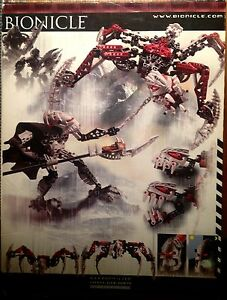 Lego Bionicle #8764, Vezon & Fenrakk, unopened in box Cambridge Kitchener Area image 2