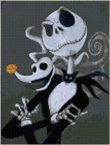 Nightmare Before Christmas 14 Count Cross Stitch Kit
