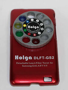 Holga-DETACHABLE-Lens-Filter-Kit-DLFT-IP4-for-Samsung-Galaxy-SII-4-4s-RED