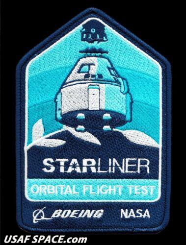 "Authentic BOEING CST-100 STARLINER - OFT - ORBITAL FLIGHT TEST -NASA  5"" PATCH"