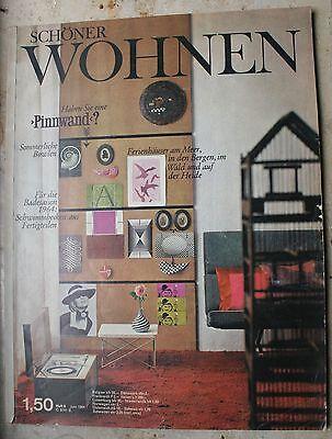 Schöner Wohnen  Zeitschrift  Juni 1964