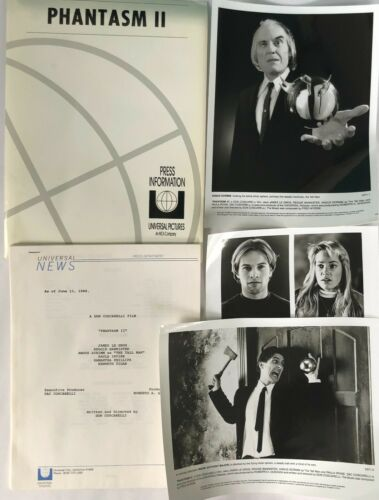 """""""PHANTASM II"""" ORIGINAL MOVIE PRESS KIT! EXTREMELY RARE, 1988!!"""