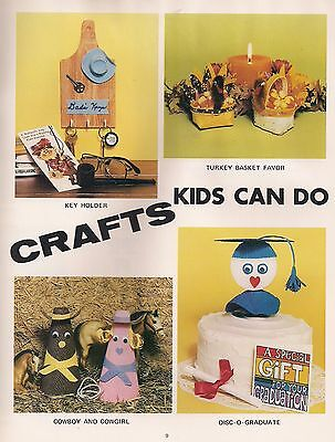 Thanksgiving Craft Projects (Thanksgiving & Cowboy Projects - Macrame Craft Books: #1206 Crafts Kids Can Do)