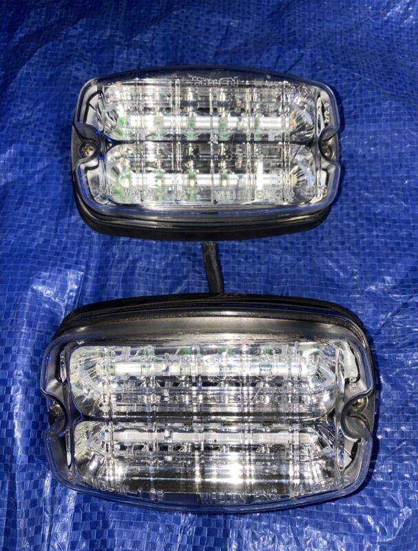 ⭐️ WHELEN M4 SMART LINEAR SUPER LED LIGHTS $376 PAIR VALUE ⭐️