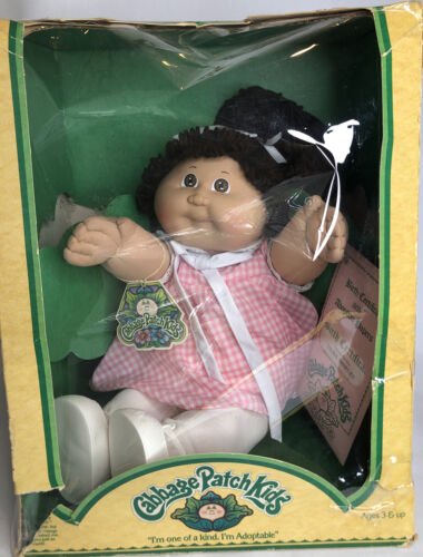 Coleco 3900 1985 Cabbage Patch Kids Doll With Original Birth Certificate NIB - $179.99