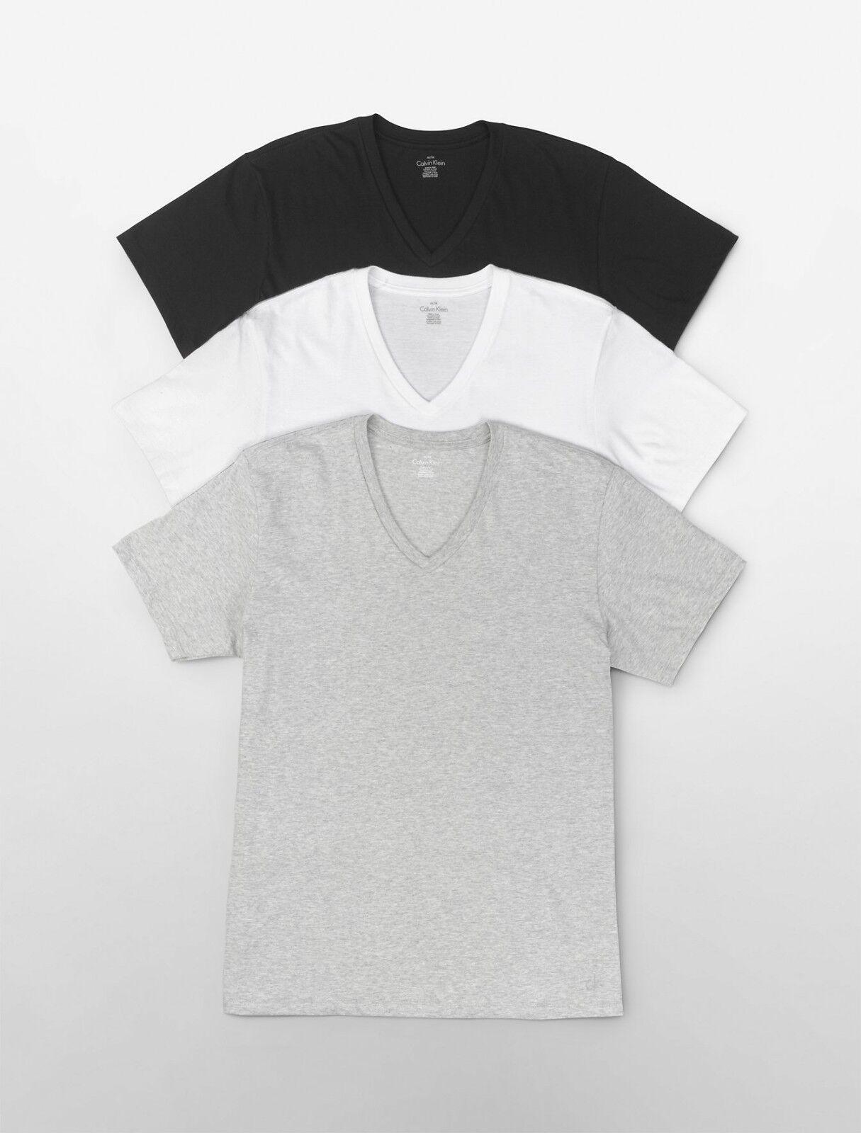 V-Neck-Black/White/Gray