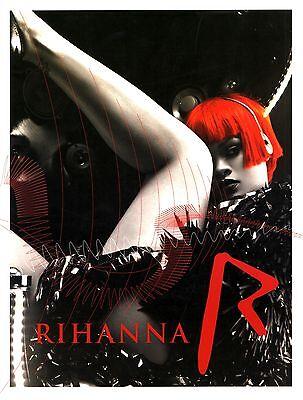 RIHANNA 2011 LOUD TOUR CONCERT PROGRAM BOOK / EX 2 NEAR MINT
