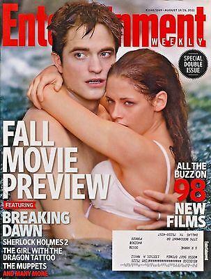 Robert Pattinson Kristen Stewart Entertainment Weekly Magazine 8 19 26 11 D 3 2
