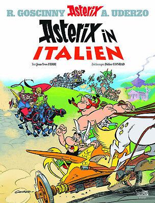Asterix 37 - Asterix in Italien (Hardcover) - Comic - Neuware - Deutsch -