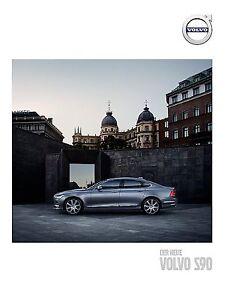 Volvo S90 2016 catalogue brochure Austrian Autriche rare - <span itemprop='availableAtOrFrom'> Varsovie, Polska</span> - Volvo S90 2016 catalogue brochure Austrian Autriche rare -  Varsovie, Polska