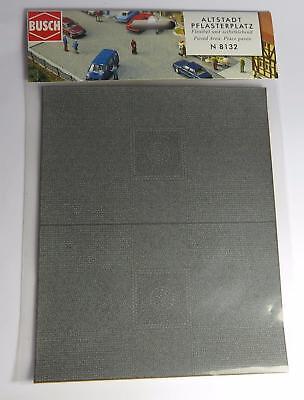 BNIB OO ROAD Self Adhesive CAR PARK HO BUSCH 9713 PARKING AREA