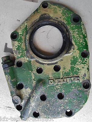 Gebraucht, Motordeckel vorne / Stirndeckel von Deutz D30 mit F2L712 Oldtimer Traktor gebraucht kaufen  Wedemark