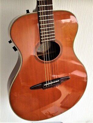 Rare Yamaha APX-6N electro/acoustic nylon string guitar.