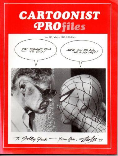 CARTOONIST PROFILES 113 STAN LEE SPIDER-MAN Interview 1997