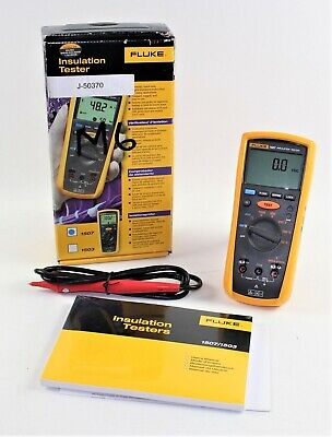 Fluke 1507 Insulation Resistance Metertester Excellent