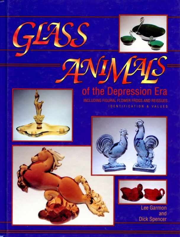 Depression Era Glass Animals Identification Makers Types Values Illustrated Book