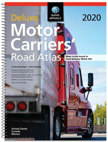 Rand McNally 2020 Deluxe Motor Carriers