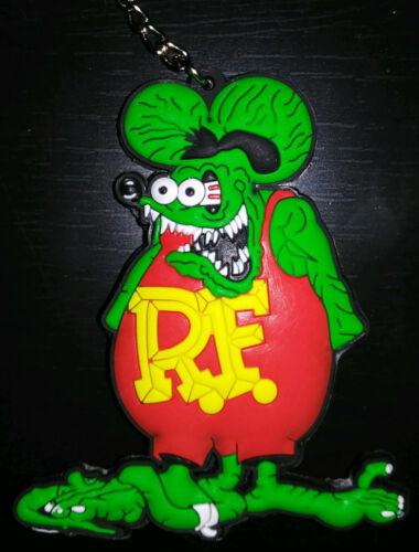 Rat Fink Keychain - Ed Big Daddy Roth