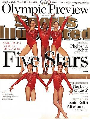 July 23  2012 Gabby Douglas   Usa Olympic Gymnastics Team Sports Illustrated
