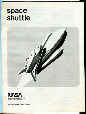 Vintage NASA Space Shuttle Brochure Pre-First Flight Marshall SFC for sale  Shipping to Canada