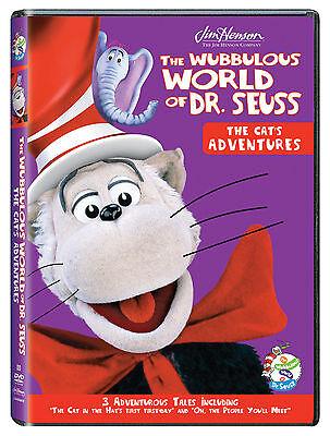 NEW Jim Henson Wubbulous World of Dr. Seuss The Cat's Adventures *BOGO 50%