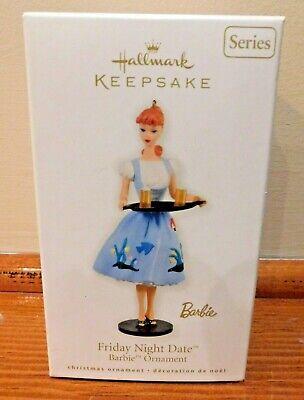 Hallmark Keepsake Christmas Ornament Friday Night Date Barbie 2010